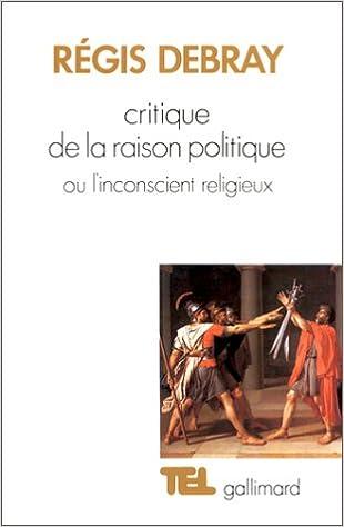 Téléchargement Critique de la raison politique, ou l'inconscient religieux pdf ebook