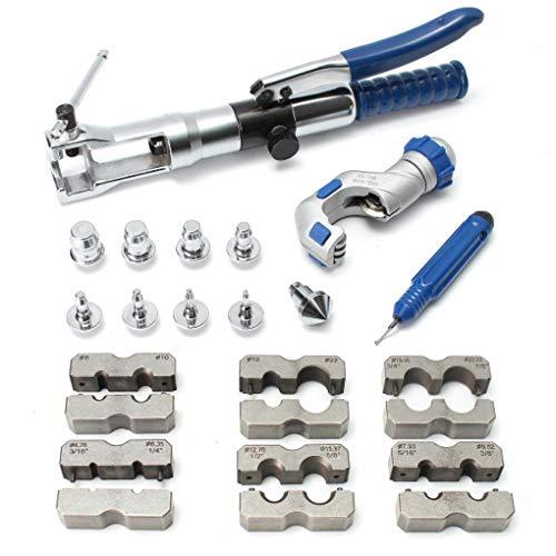 lic Pipe Expander Set Brake Pipe Fuel Line Flaring Tools KIt ()