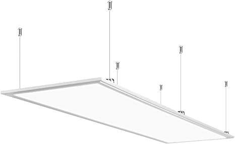 Anten Pannello Led Plafoniera Da Ufficio Lampada Pannello Luminoso A Soffitto Luce Fluorescente Lampada Da Soffitto 60w 4000 Lumen Bianco Naturale 120x30 Cm Amazon It Illuminazione