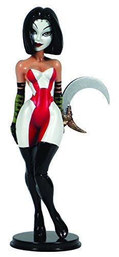 CS Moore Studios Little Minxies Kabuki Porcelain Statue - Shes Dynamite Costumes