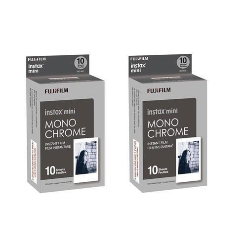 Fujifilm Instax Mini Film Monochrome 2-Pack