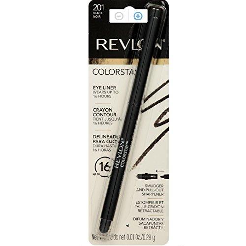 Revlon ColorStay Eyeliner Pencil, Black 201 , 0.01 oz Pack of 12