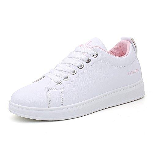 フレキシブル幸運なことに着飾るスニーカー スポーツスニーカー ランニングシューズ ウォーキング ジョギング 運動靴 レディ ース カジュアル ローカット 軽量 通気 通勤 通学靴 PUレザー 女性 靴 おしゃれ