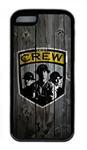 Columbus Crew Iphone 5C Black Sides Rubber Shell Case by eeMuse