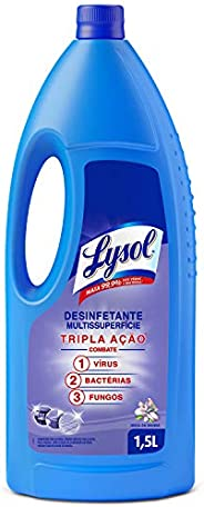 Desinfetante Líquido Lysol Brisa da Manhã 1, 5L, Lysol, Roxo