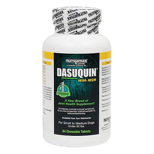 Dasuquin MSM Chewable Tablets Small/Med Dogs 84ct by Dasuquin