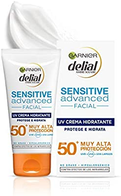 Garnier Delial Sensitive Advanced - Crema Facial Hidratante Alta ...