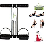 EasyHealth Double Spring Tummy Trimmer-Abs Exerciser-Waist Trimmer-Total Body Workout for Men and Women