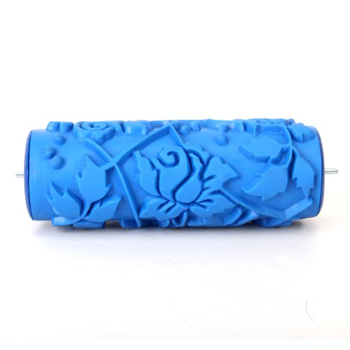 - Sonline 15cm DIY Floral and Dot Pattern Paint Roller for Wall Decoration 066Y