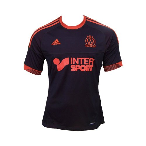 3 Adidas Homme Noir Om Orange De Jsy Football Maillot vqr51wq