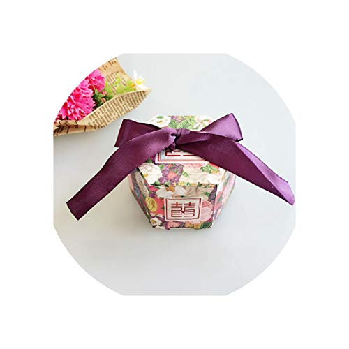 Gift Boxes Weddings and Gifts Candy Box Mariage Gift Bag for Baby Shower Wedding Decoration,Yn1-3,100 Pcs]()