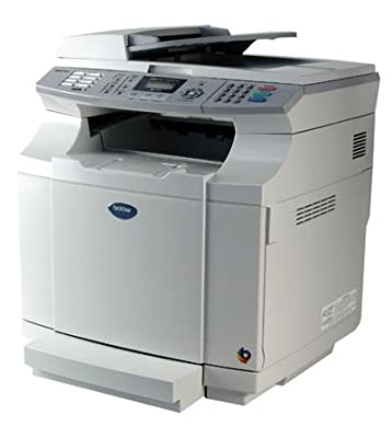 Brother MFC 9420CN - Multifunction ( fax / copier / printer / scanner ) - color - laser - copying (up to): 31 ppm (mono) / 8 ppm (color) - printing (up to): 31 ppm (mono) / 8 ppm (color) - 250 sheets - 33.6 Kbps - parallel, Hi-Speed USB, 10/100 Base-TX