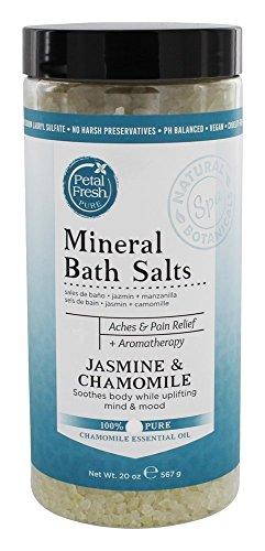Petal Fresh Pure Mineral Bath Salts Jasmine Chamomile 1 25 lbs 567 g
