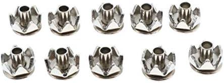 nobrand Einfach Slip On 10pcs Ersatz Spikes Klampen Eisshow Stiefel Klampen Stecker Edelstahl Traction Spikes