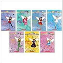 the dance fairies boxed set 7 books rainbow magic 1 bethany the ballet fairy 2 jade the disco fairy 3 rebecca the rock n roll fairy 4 tasha the tap dance fairy 5 jessica the jazz fairy 6 serena the salsa fairy 7 isabelle the ice dance fairy
