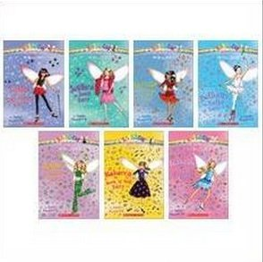 The Dance Fairies Boxed Set (7 Books) (Rainbow Magic, #1: Bethany the Ballet Fairy; #2: Jade the Disco Fairy; #3: Rebecca the Rock 'n' Roll Fairy; #4: Tasha the Tap Dance Fairy; #5: Jessica the Jazz Fairy; #6: Serena the Salsa Fairy; #7: Isabelle the Ice Dance Fairy) (Fairy Boxed)