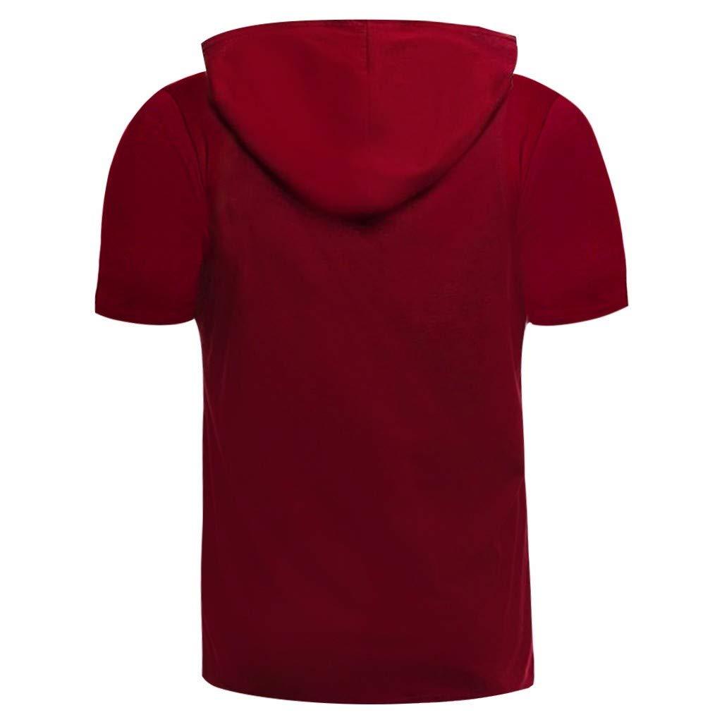 Kanpola D/ébardeur Homme Musculation Sport Fitness /Ét/é Grande Taille Impression Tee Shirt sans Manche Blouse Tops Gilet T Shirts