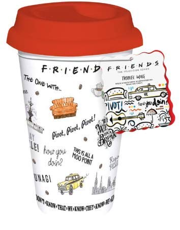 Paladone Friends Central Perk Coffee Cup Travel Mug