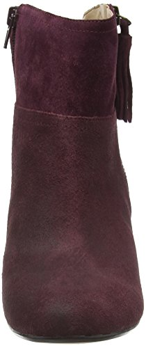 Nine West Damen Hannigan Kurzschaft Stiefel Red (Chianti)
