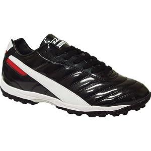 Vizari Elite V90 TF Soccer Cleat (Turf) - Black/White/Red - 9.5 M US Mens