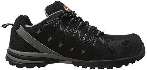 Dickies Tiber, Chaussures de sécurité homme - Noir (Black) - 45 EU (Taille Fabricant : 10 UK)