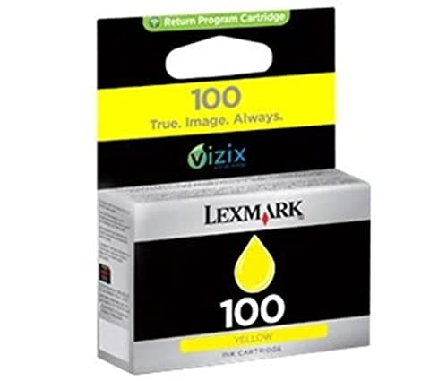 Lexmark 14N0902E 100 Ink cartridge yellow, 200 pages, 200ml (Lexmark Pro709)