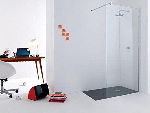 Tamanaco Box Wand Dusche Trennwand aus Glas transparent-Profile ...