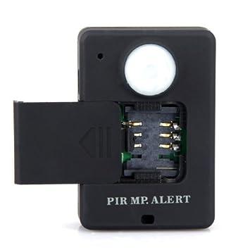 Kingzer mando a distancia sensor PIR GSM inalámbrico de detección de movimiento alarma Audio Vigilancia