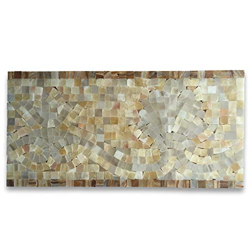 2 Marble Mosaic Border Listello Accent Tile Polished ()
