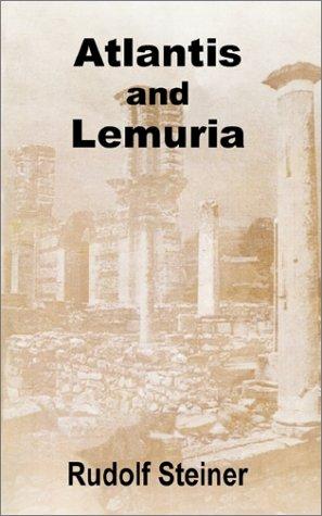 Atlantis and Lemuria pdf epub