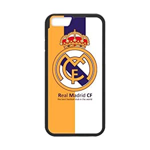 Onshop Custom Football Team Real Madrid Logo Phone Case Laser Technology for iPhone 6 4.7 Inch by runtopwell