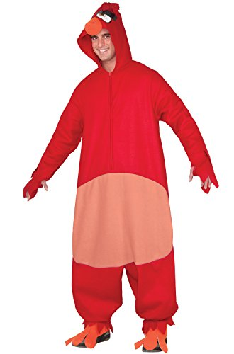Rubie's Men's Angry Birds Movie, Red Costume, As As Shown, Extra Large]()