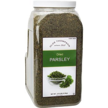 Olde Thompson Dried Parsley, 0.75 lb in Clear Jar by Olde Thompson