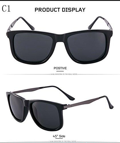 Gafas 400 Polarizadas para Sol Hombre C1 De UV Protección para Aviator Mujer C3 fq4rUfnwT
