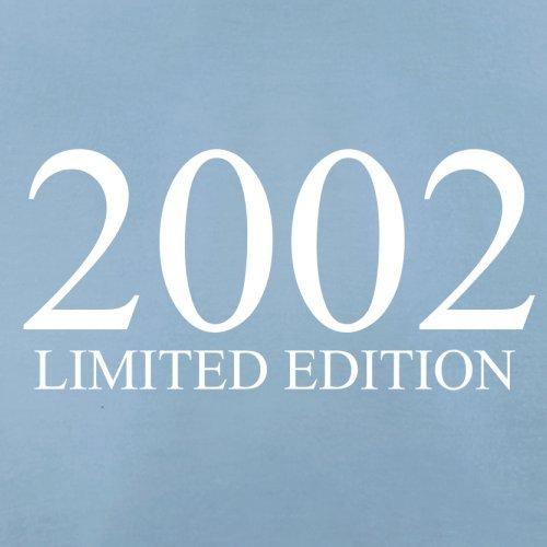 2002 Limierte Auflage / Limited Edition - 15. Geburtstag - Herren T-Shirt - Himmelblau - XXL