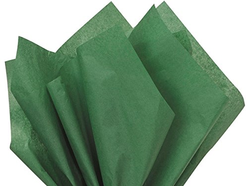 Holiday Green 120 Sheets - Gift Wrapping Tissue Paper 15' x 20' | Colors of Rainbow