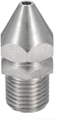 Queenwind の圧力洗浄剤の下水管の下水管のクリーニングジェットのノズル4ジェット1/4 インチの男性