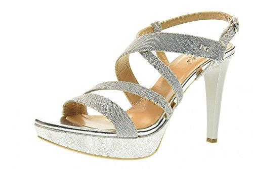 NERO GIARDINI Frauen Sandale Schuhe P717890DE / 705 Ice