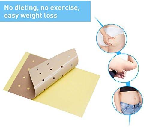 bowlder Gewichtsverlust Patches 10PCS Natural Slim Patch Schnelle Fettverbrennung Verdauungsförderung für den Bauch