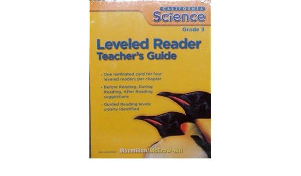 leveled reader grade 3 california science teacher s guide rh amazon com Science Teachers Association Science Teachers Association