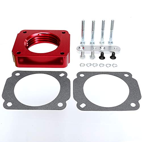 DEF 400-524 Throttle Body Spacer for Ford Mustang GT 1999-2004 4.6L V8 with Returnless Fuel System ()