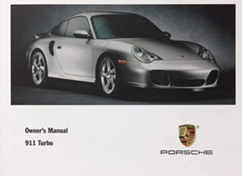 porsche 2001 911 turbo owners manual drivers manual 996 porsche rh amazon com porsche 996 turbo repair manual 991 Turbo