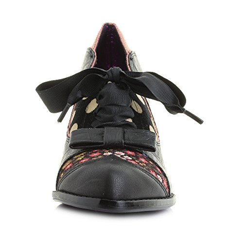 Irregular Choice  Force of Beauty, Damen Pumps schwarz schwarz