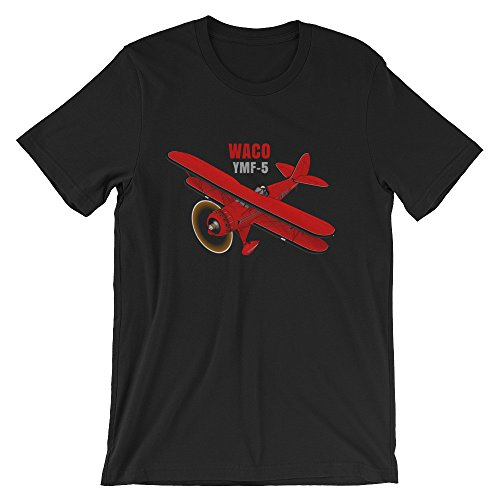 Waco YM-5 (Red/Black) Airplane T-shirt - Personalized for sale  Delivered anywhere in USA