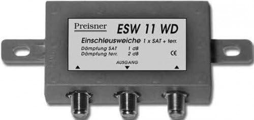 Televes Esw11wd Kabelspalter Oder Kombinator Elektronik