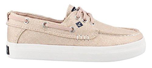 Deck Girl Review - Sperry Girls' Crest Resort Boat Shoe, Pink, 2.5 Medium US Little Kid