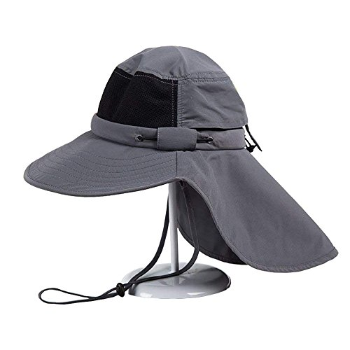 Evoio Wide Brim Hat UPF 50 Sun Hats for Man Woman, Breathable, Quick Drying,Sombrero for Outdoor Sports Travel Agricultural Activities