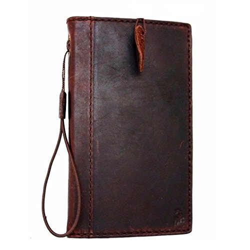 Genuine Oil Leather Case for Samsung Galaxy Note 3 Book Wallet Handmade Id Stylish Skin