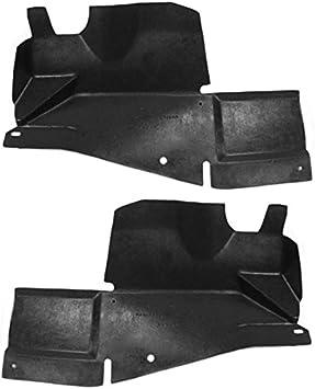 Koolzap For 09-13 Mazda6 Front Engine Splash Shield Under Cover Undercar Left Right SET PAIR