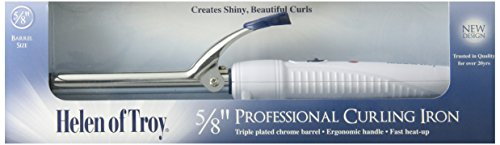 Price comparison product image Helen of Troy 1509 Spring Curling Iron, White, 5/8 Inch Barrel
